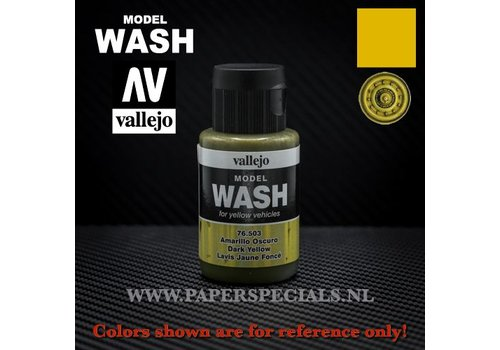 Vallejo Vallejo - Model Wash 35ml - 76.503 Dark Yellow