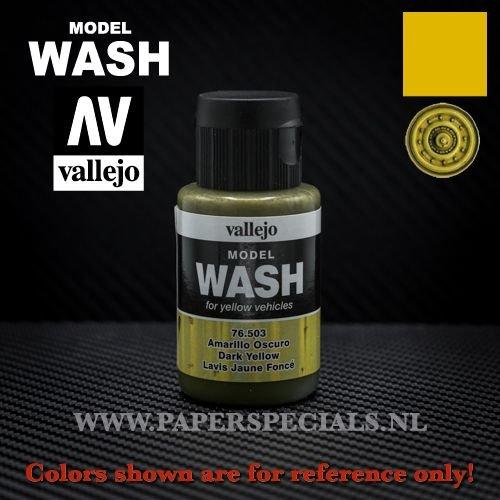Vallejo - Model Wash 35ml - 76.503 Dark Yellow