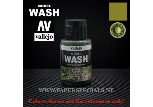 Vallejo Vallejo - Model Wash 35ml - 76.512 Dark Green