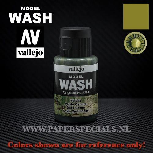 Vallejo - Model Wash 35ml - 76.512 Dark Green