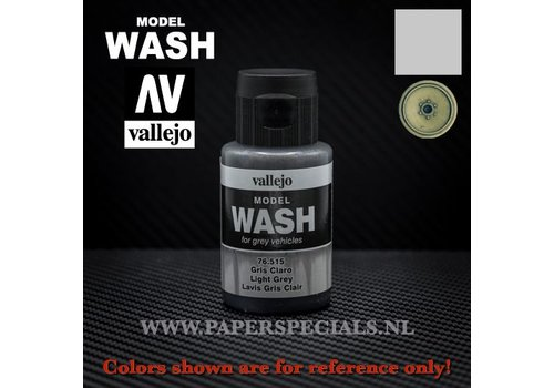 Vallejo Vallejo - Model Wash 35ml - 76.515 Light Grey