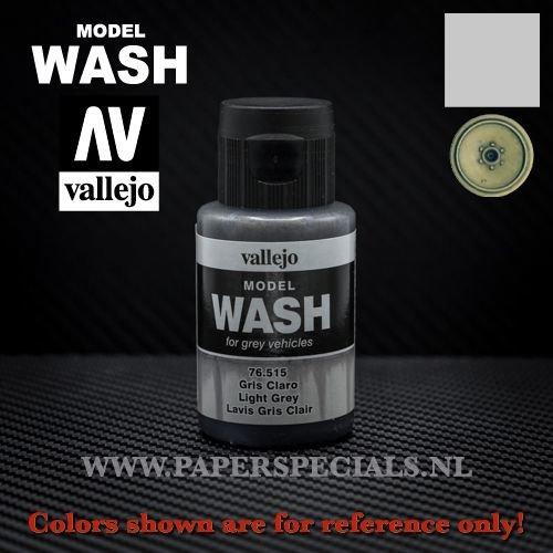 Vallejo - Model Wash 35ml - 76.515 Light Grey