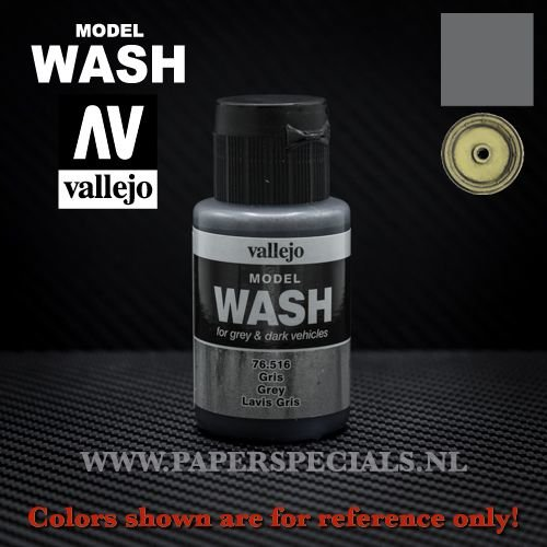 Vallejo - Model Wash 35ml - 76.516 Grey