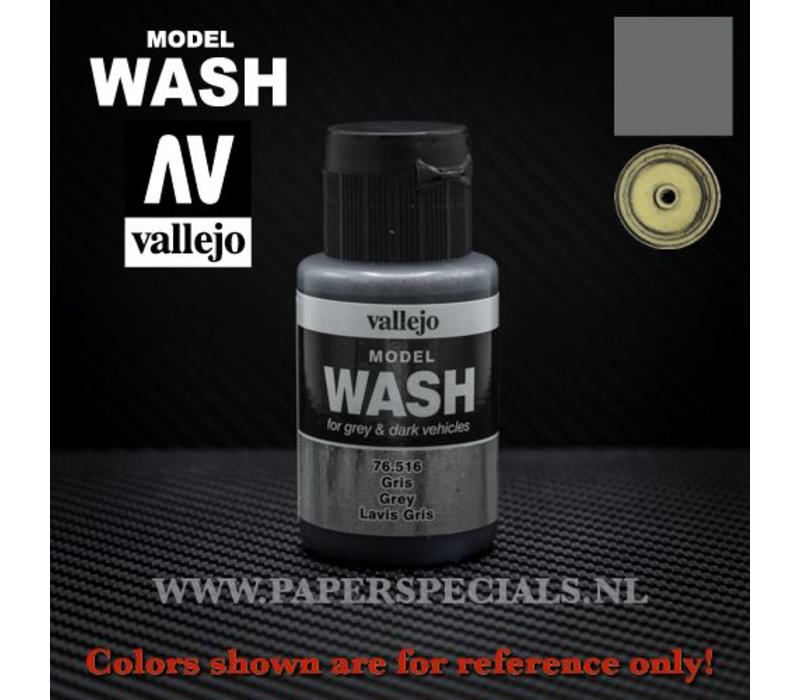 Vallejo - Model Wash 35ml - 76.516 Grey