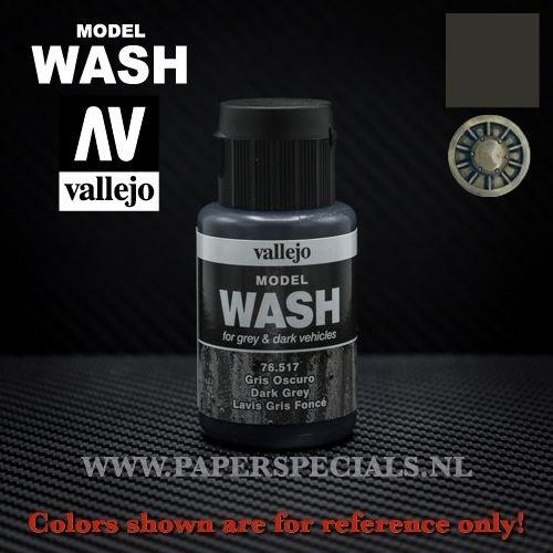 Vallejo - Model Wash 35ml - 76.517 Dark Grey