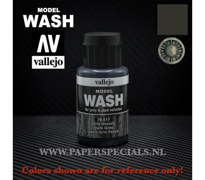 Vallejo - Model Wash 35ml - 76.517 Dark Grey