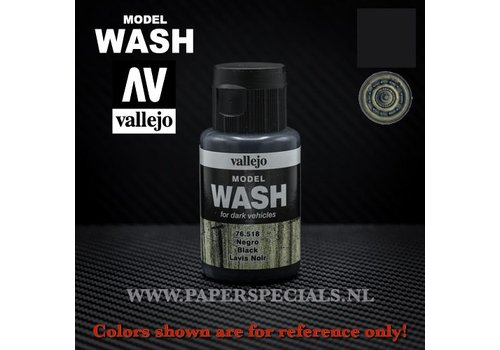 Vallejo Vallejo - Model Wash 35ml - 76.518 Black