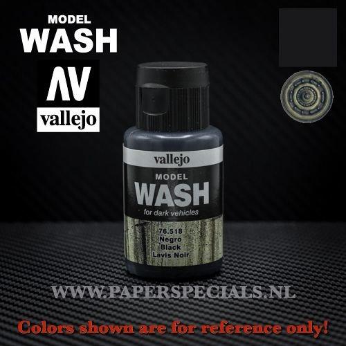 Vallejo - Model Wash 35ml - 76.518 Black