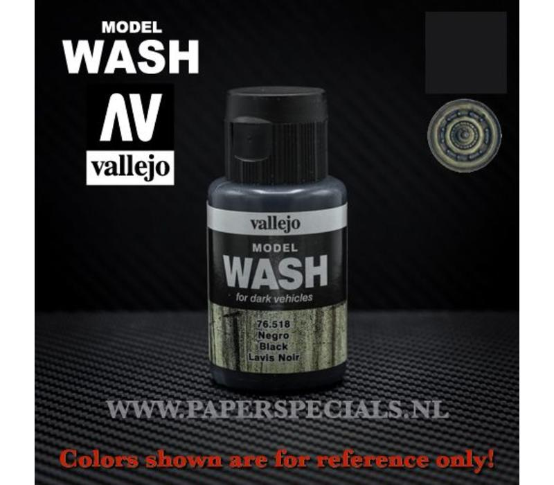 Vallejo - Model Wash 35ml - 76.518 Black