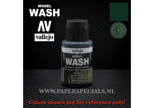 Vallejo Vallejo - Model Wash 35ml - 76.519 Olive Green