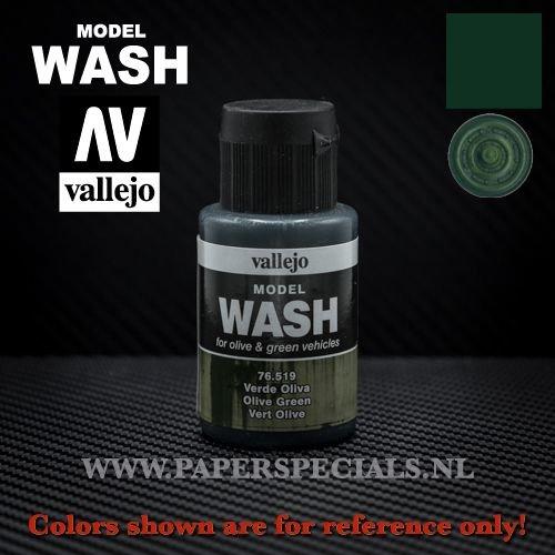 Vallejo - Model Wash 35ml - 76.519 Olive Green