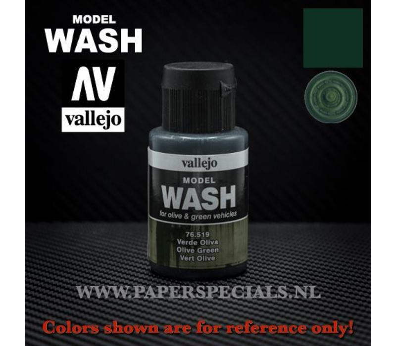 Vallejo - Model Wash 35ml - 76.519 Olive Green