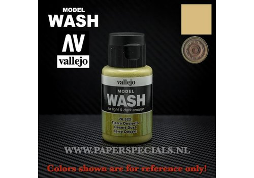 Vallejo Vallejo - Model Wash 35ml - 76.522 Desert Dust