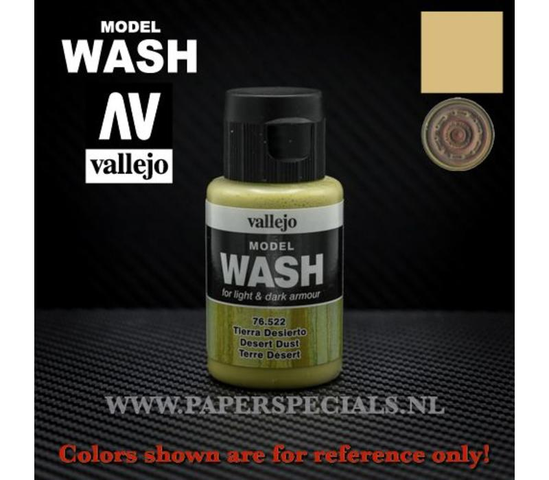 Vallejo - Model Wash 35ml - 76.522 Desert Dust