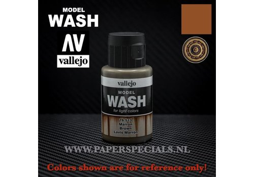 Vallejo Vallejo - Model Wash 35ml - 76.513 Brown