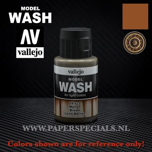 Vallejo - Model Wash 35ml - 76.513 Brown
