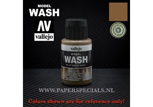 Vallejo Vallejo - Model Wash 35ml - 76.523 European Dust