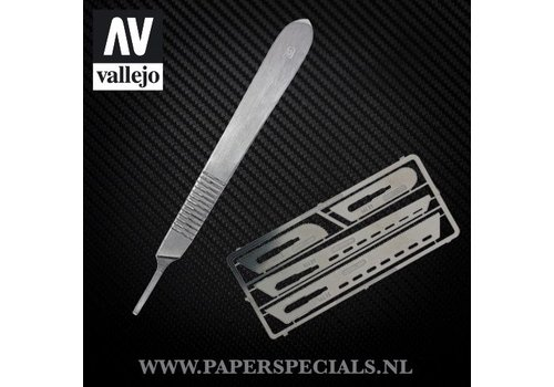 Vallejo Vallejo - Modeling saw - Set with 4 scalpels