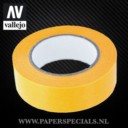 Vallejo - Precision Masking Tape 18mm - rol van 18 meter