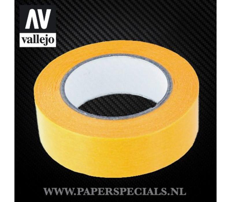 Vallejo - Precision Masking Tape 18mm - rol van 18 meter