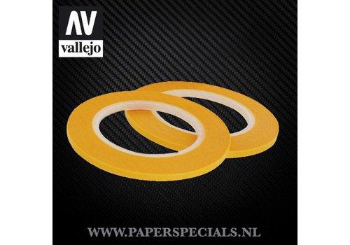 Vallejo Vallejo - Precision Masking Tape 3mm - 2 rollen van 18 meter
