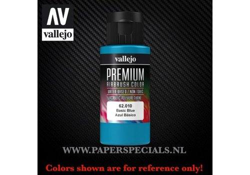 Vallejo Vallejo - Premium RC Color 60ML - 62.010 Basic Blue