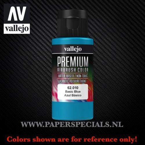 Vallejo - Premium RC Color 60ML - 62.010 Basic Blue