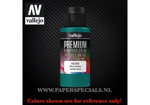 Vallejo Vallejo - Premium RC Color 60ML - 62.012 Blue Green