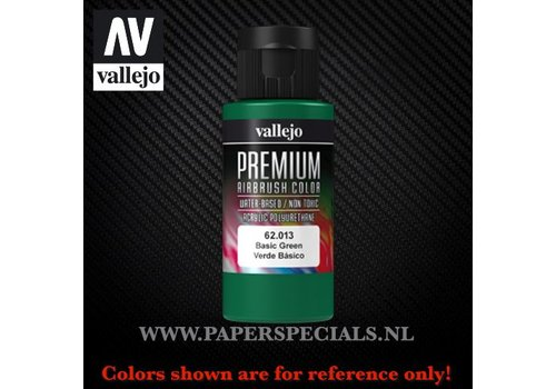 Vallejo Vallejo - Premium RC Color 60ML - 62.013 Basic Green