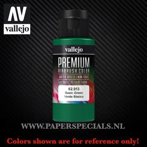 Vallejo - Premium RC Color 60ML - 62.013 Basic Green