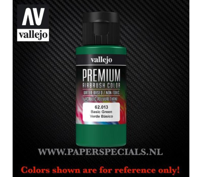 Vallejo - Premium RC Color 60ML - 62.013 Basic Green