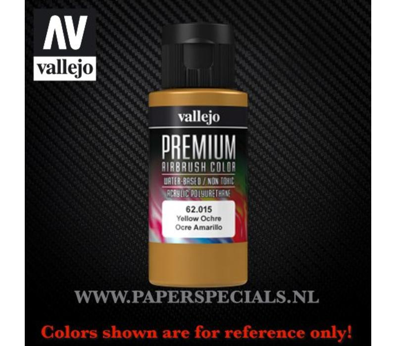 Vallejo - Premium RC Color 60ML - 62.015 Yellow Ochre