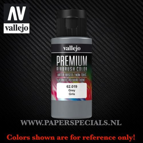 Vallejo - Premium RC Color 60ML - 62.019 Grey