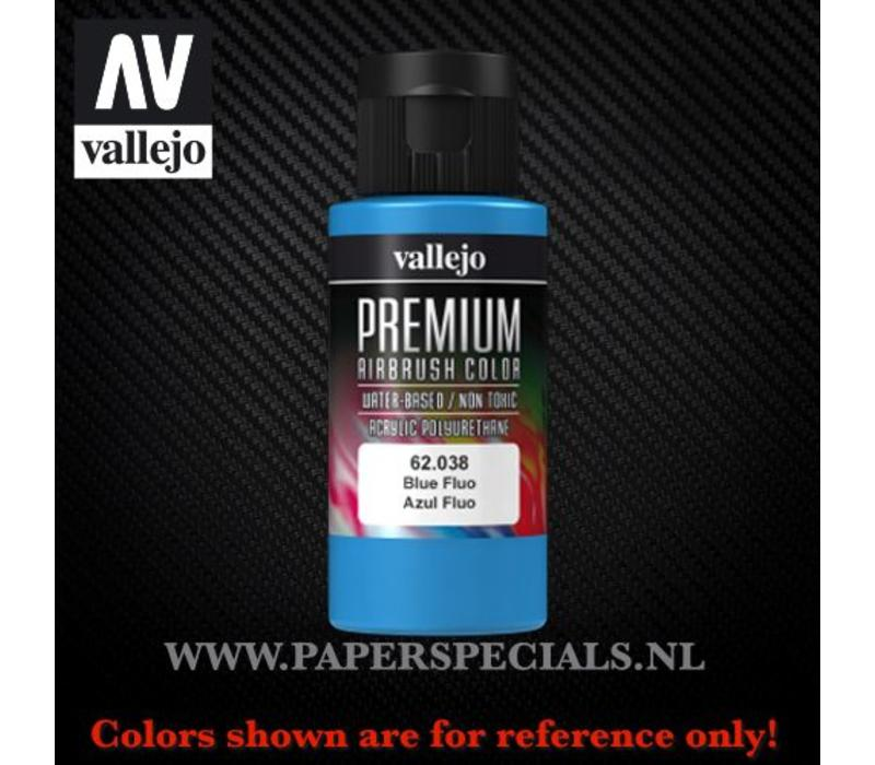 Vallejo - Premium RC Color 60ML - 62.038 Fluorescent Blue