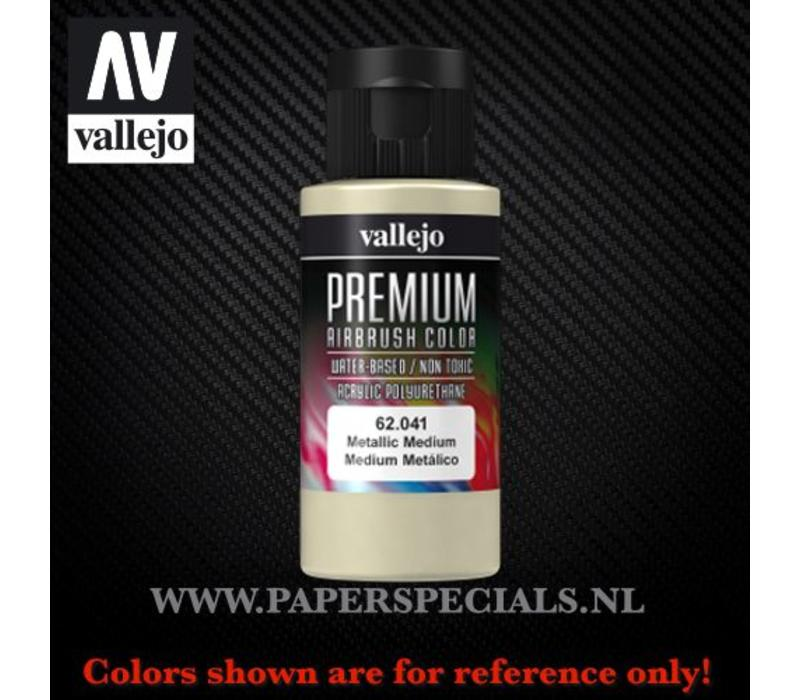 Vallejo - Premium RC Color 60ML - 62.041 Metallic Medium