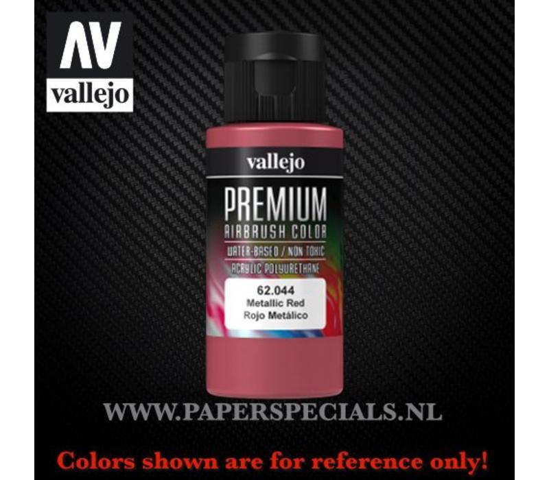 Vallejo - Premium RC Color 60ML - 62.044 Metallic Red