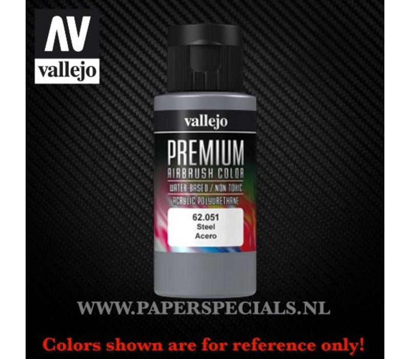Vallejo - Premium RC Color 60ML - 62.051 Steel