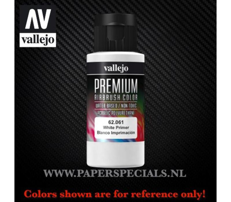 Vallejo - Premium RC Color 60ML - 62.061 White Primer