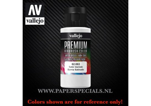 Vallejo Vallejo - Premium RC Color 60ML - 62.063 Satin Varnish