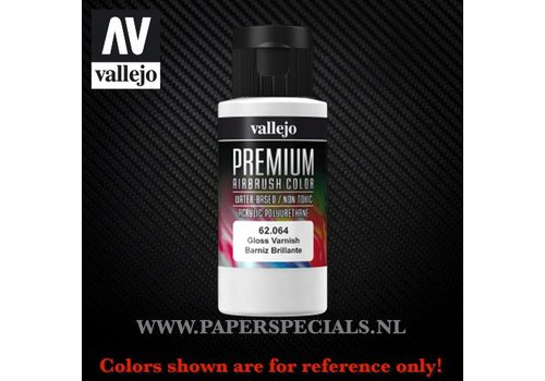 Vallejo Vallejo - Premium RC Color 60ML - 62.064 Gloss Varnish