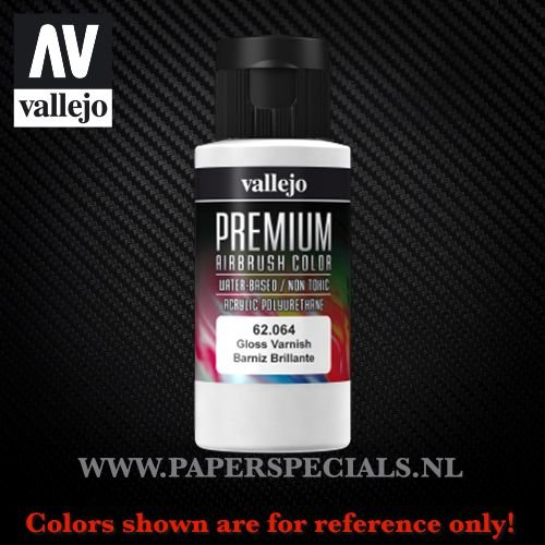 Vallejo - Premium RC Color 60ML - 62.064 Gloss Varnish