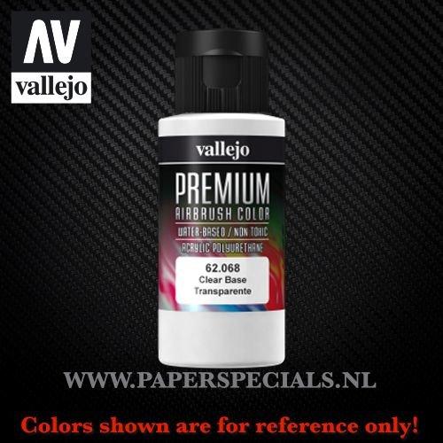 Vallejo - Premium RC Color 60ML - 62.068 Clear Base