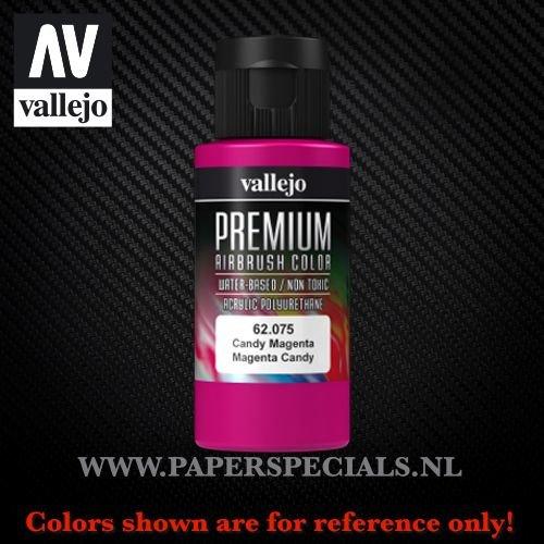 Vallejo - Premium RC Color 60ML - 62.075 Candy Magenta