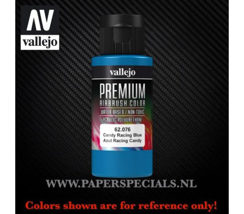 Vallejo - Premium RC Color 60ML - 62.076 Candy Racing Blue