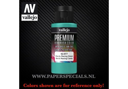 Vallejo Vallejo - Premium RC Color 60ML - 62.077 Candy Racing Green
