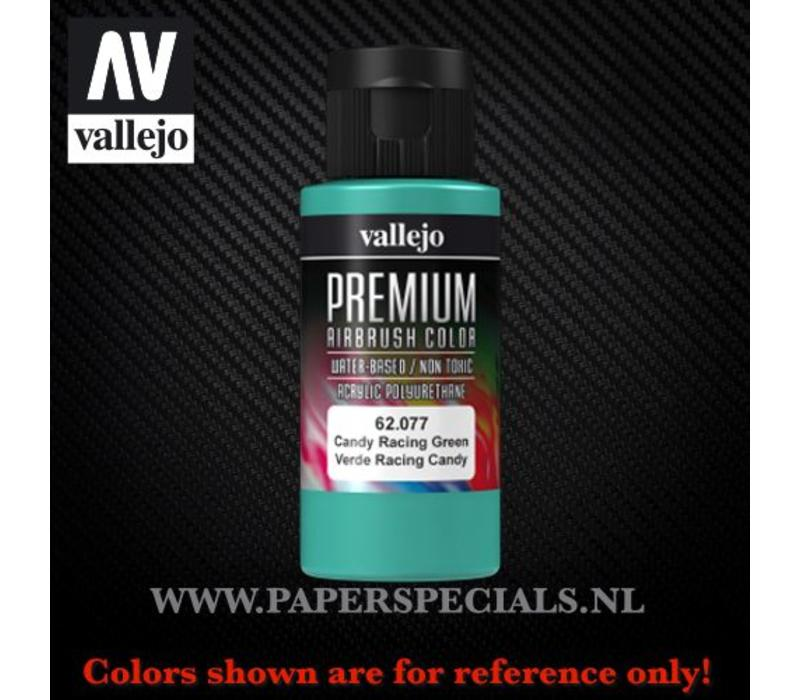 Vallejo - Premium RC Color 60ML - 62.077 Candy Racing Green