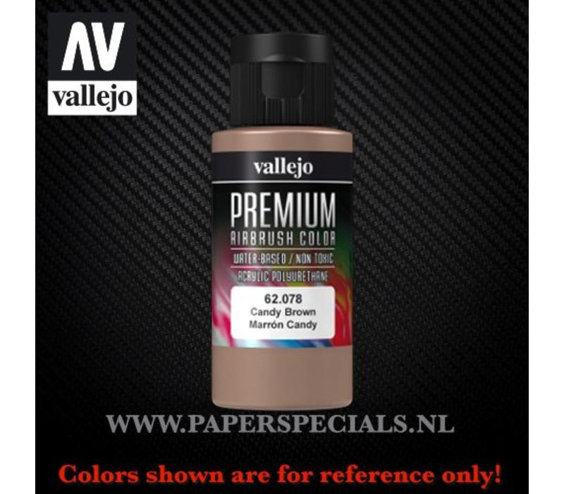 Vallejo - Premium RC Color 60ML - 62.078 Candy Brown