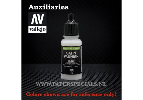 Vallejo Vallejo - Satin Varnish - 17ml