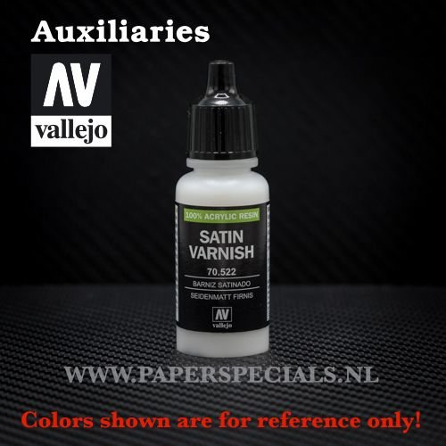 Vallejo - Satin Varnish - 17ml