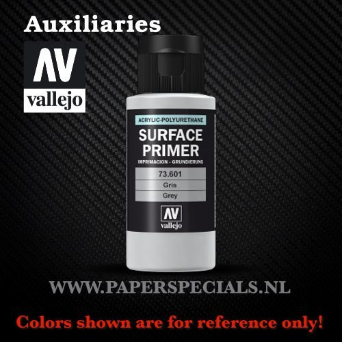 Vallejo - Surface Primer 60ml - 73.601 Grey